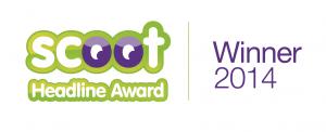 Scoot Headline Award Winner