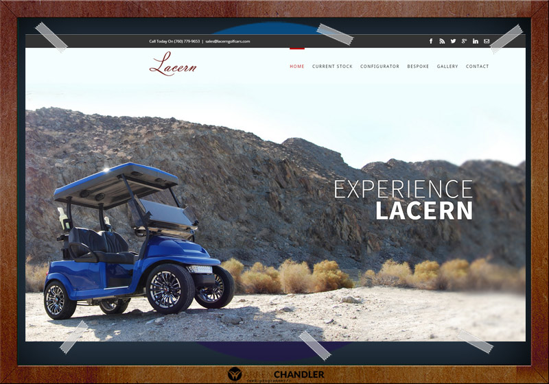 Lacern Golf Cars Website